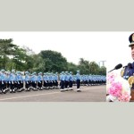 Air Chief awards BAF Colour to different units, squadrons