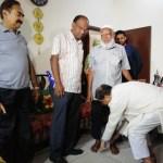 Nostalgia drives Hasan Mahmud to meet his favourite school teacher