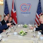 Trump backs Johnson, sends mixed signals on China at G7