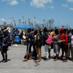 Thousands in Bahamas flee Dorian's devastation