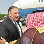 Pompeo wants 'peaceful' solution to crisis over Saudi strikes