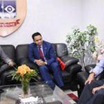 Malaysian High Commissioner calls on DU VC