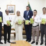 PM unveils book on her question-answer session in JS