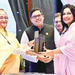 Maliha M Quadir honoured with best ICT Women Entrepreneur Award