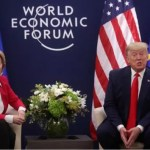 Trump, EU commission chief discuss 'trade deal' in Davos