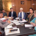 Carter Center delegation meets Information Minister