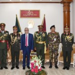 Zambian army commander pays courtesy call on President