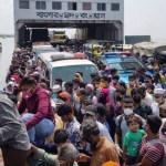 Hundreds of workers coming to Dhaka for livelihoods