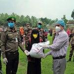 300 jobless Ansar-VDP members get relief in Bogura