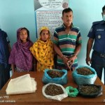 3 of a family held with hemp in Dinajpur