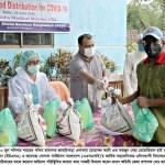 Dinajpur DC distributes foods among 1,000 families