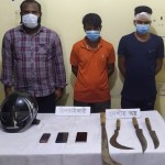 Three held while mugging in Joypurhat