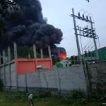 Fire catches foam factory in Gazipur