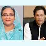 Imran Khan phones PM Hasina