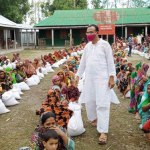 Kurigram AL distributes relief among 600 flood-hit families