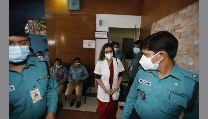 Dr Sabrina suspended after arrest