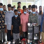 12 arrested for stealing and changing IMEI numbers of mobile phones