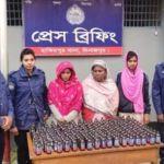 2 women held with Phensedyl in Dianjpur