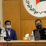 Quader Mirza holds courtesy meeting with Obaidul Quader