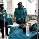 Biker physically assault sergeant in Rajshahi