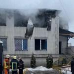 Ukraine nursing home fire leaves 15 dead