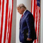 Leaving office, Trump has lowest approval rating of his presidency