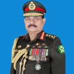 Army chief returns home from USA