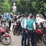 DMP urges not for carrying extra rider on motorcycle
