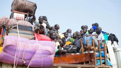 Refugees from South Sudan arrive in Elegu, northern Uganda Photo: UNHCR/Will Swanson