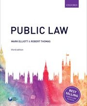 Public Law Author: Mark Elliott and Robert Thomas ISBN: 9780198765899