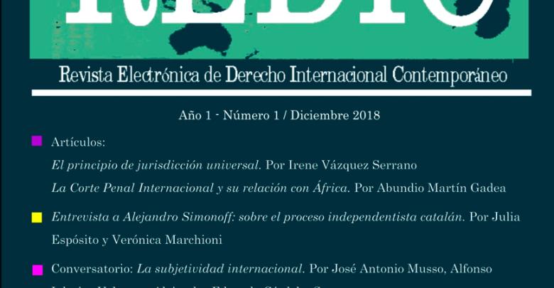 Revista Electrónica de Derecho Internacional Contemporáneo