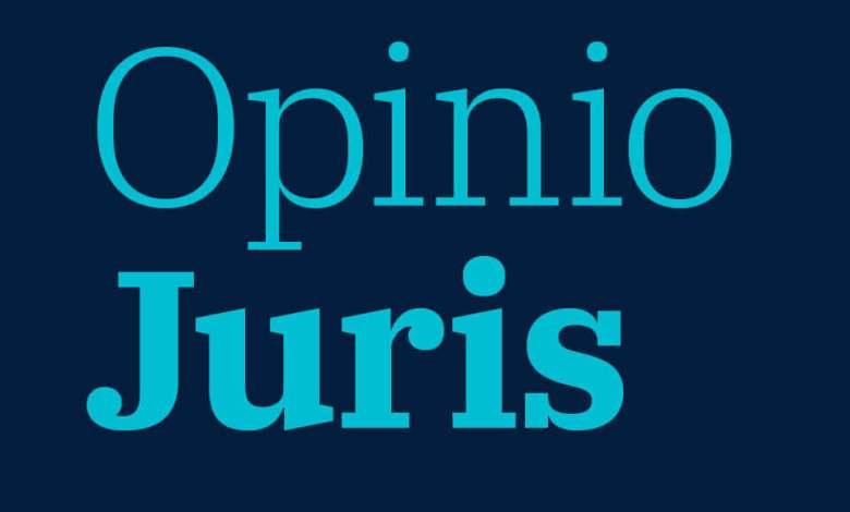 Opinio Juris