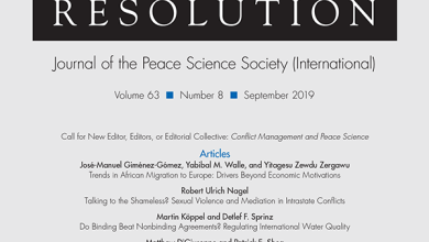 Journal of Conflict Resolution - Volume 63 Issue 8, September 2019