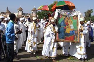 Hidar Tsion Celebration (Nigdet) at RiEse Adbarat Debre Tsion St. Mary Asmara, Eritrea