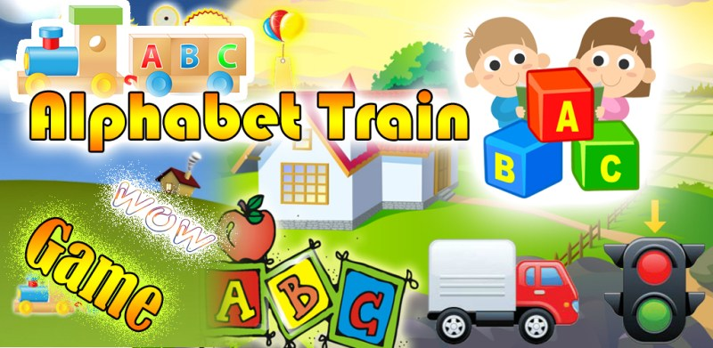Alphabet Train ABC English Alphabet Hunter