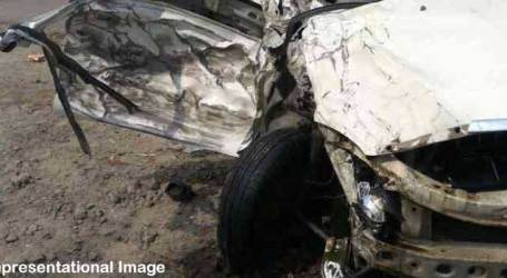 Four of family  including two children die in Unnao road accident