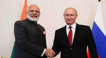 Talks with Prez Putin will strengthen Privileged Strategic Partnership b/w India, Russia: PM