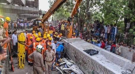 Varanasi Bridge collapse: 4 suspended