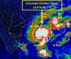 Tamil Nadu :  Schools, colleges closed, Cyclone Gaja to hit southern coast today