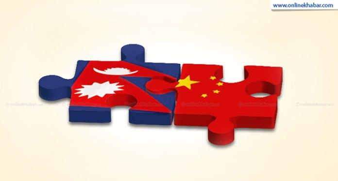 From the Kathmandu Press: Monday, September 3, 2018 Nepal China Flag 1
