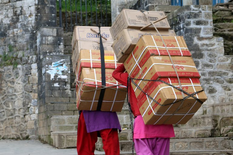 Journey to Everest: This is how supplies for climbers are transported to the base camp ebc photo story 6