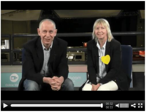 Nik Peachey with Julie Pratten