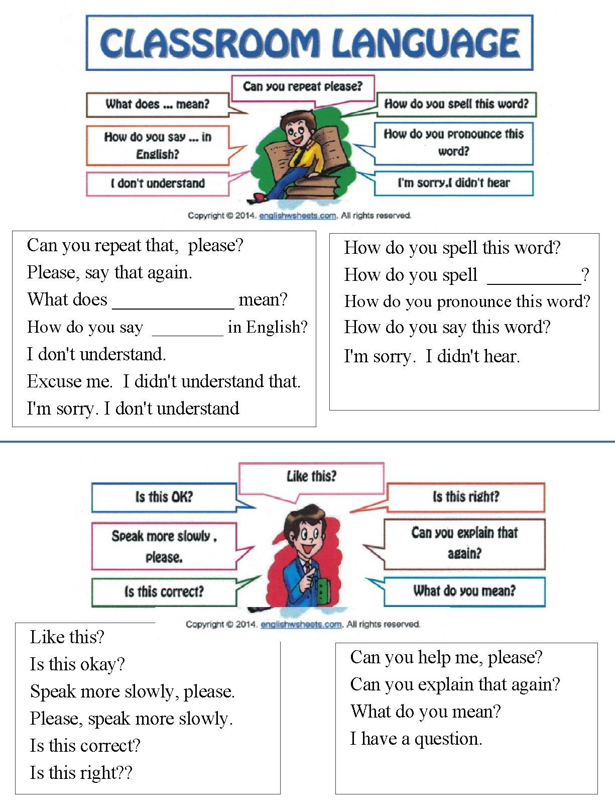 5 Conversation Sentences