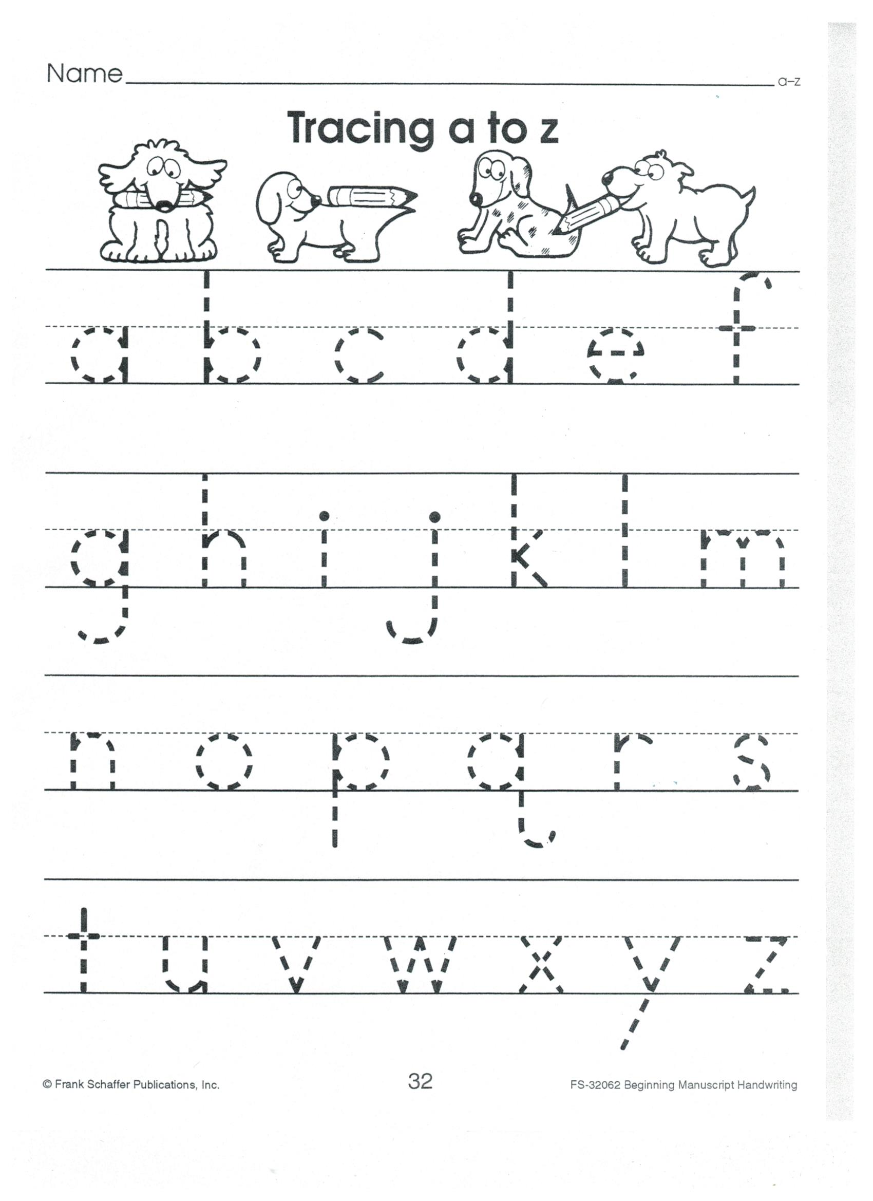 Lowercase K Worksheet