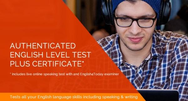 Premium Certified English Language Test 1