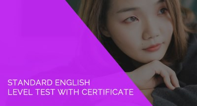 Standard English Level Test with Certificate