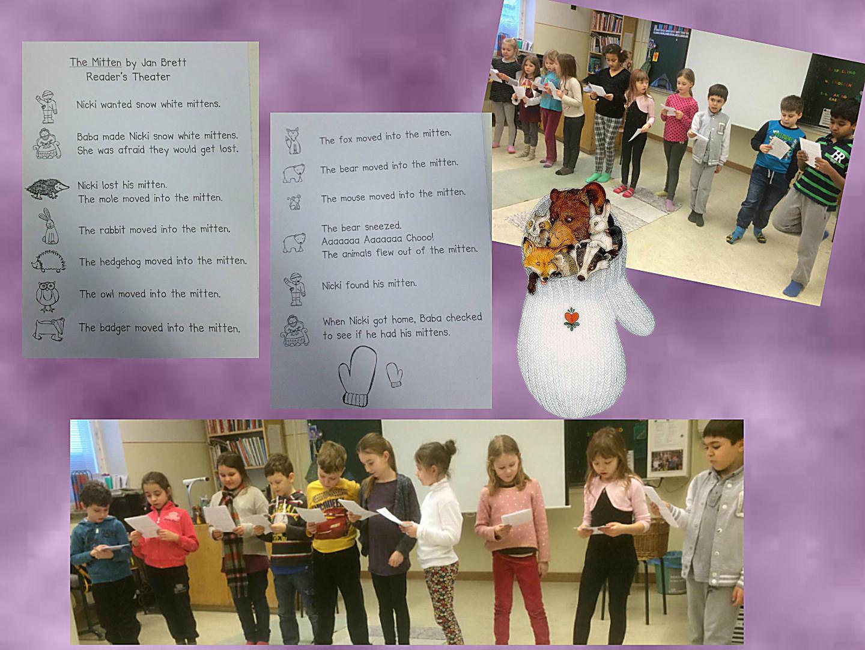 Mitten Minibook English Classes At Cygnaeus School