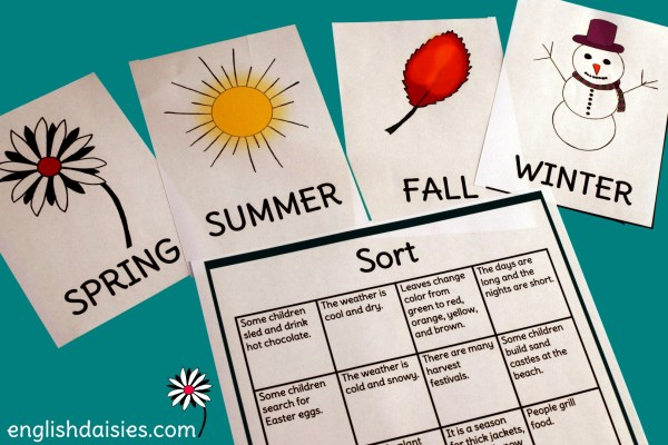 Listen to English: Guess the Season for A1 English Learners