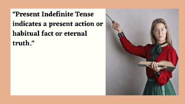 Present indefinite tense