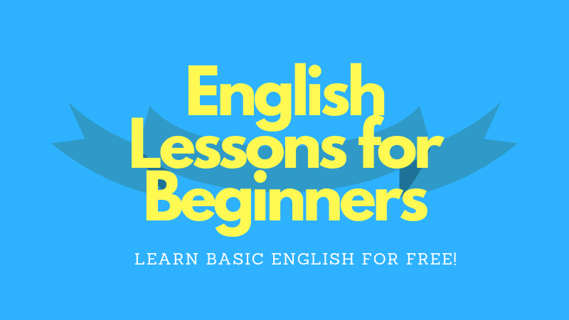English lessons for beginners